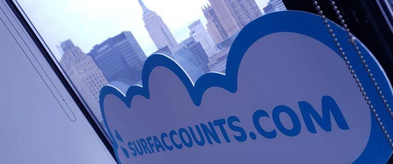 surf accounts in the usa